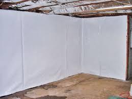 basement wall vapor barrier system in charleston huntington