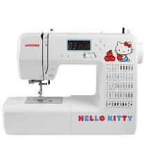 Hello Kitty Halloween Basket by Janome Hello Kitty Sewing Machine 18750 Joann