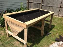 Planter With Legs by Amazing Of Raised Planter Plans How To Build A Raised Vegetable