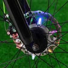 bike lights for night riding cycling lights remote control bike hub wheel light 3 modes mtb