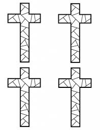 absolutely ideas printable cross coloring pages free archives