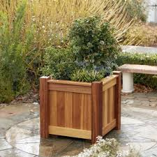 36 best wooden planters images on pinterest wooden planters
