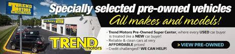 lexus dealership whippany nj volkswagen dealership morris county nj used cars trend motors