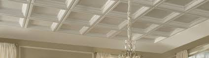 What Is A Coffered Ceiling by Coffered Look Ceilings Armstrong Ceilings Residential