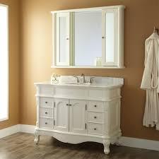 Wooden Bathroom Mirror by Bathroom 20172017 Wonderful Chic White Paint Wooden Bathroom