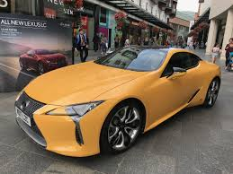 lexus cars exeter lc500h on topsy one
