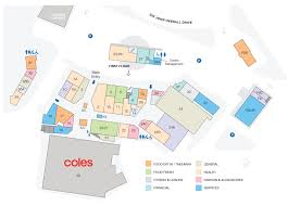 Shopping Centre Floor Plan by Centre Map U0026 Stores U2013 Helensvale Plaza