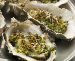 cuisiner les huitres huîtres gratinées au beurre d escargot recette de huîtres