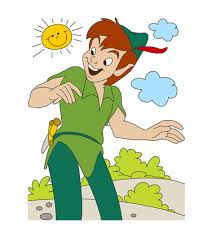 peter pan coloring 4 coloring pages kids color print