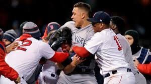 yankees and red sox brawl hours after rockies padres fight elmira