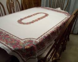turkey tablecloth etsy
