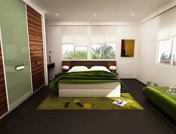 Fabric And Wood Headboards by Bedroom Fresh Green Bedroom Features Vibrant Earth Tones Also
