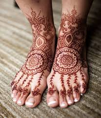 beautiful bridal henna art for any wedding indian sangeet