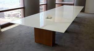 White Conference Table Axis Custom Conference Table Glass Top Custom Conference Table