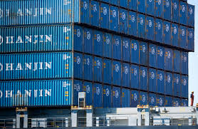 hanjin creditors fighting over who can sell shipping containers wsj
