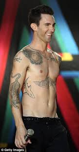adam levine animal tattoos tattoomagz