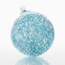 flurries by kevin boyce glass ornament available at www