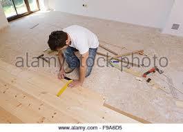 measuring wood flooring stock photo royalty free image
