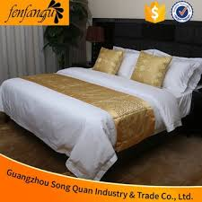 Bed Song Song Quan Guangzhou Hotel Bed Linen Set Manufacturer New Fashion