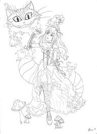 cheshire cat coloring pages google search it u0027s a draw