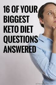 16 of your biggest keto diet questions answered