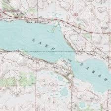 minnesota topographic map lake hennepin county minnesota lake rockford usgs