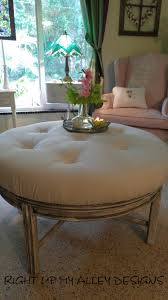 round dressing room ottoman ottoman coffee table round hand painted coffee table ottoman tufted