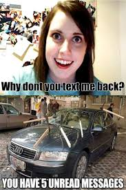 Over Obsessive Girlfriend Meme - overly attached girlfriend memes best collection of funny overly