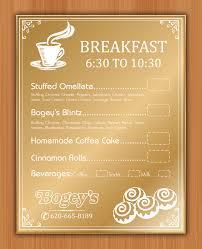 playful colorful menu design for tyler davis by smart design