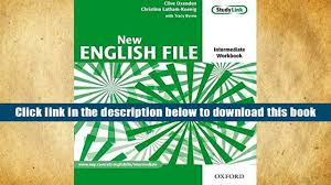 read online new english file intermediate workbook with key and
