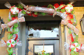 Red Ribbon Door Decorating Ideas Decoration Ideas Awesome Accessories For Christmas Front Door