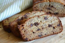 chocolate chip banana bread cook diary