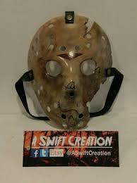 jason voorhees coffee table pt 3 mask replica replica pinterest more masking and action