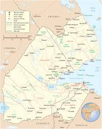 Map Of The Africa by Map Of Djibouti Travel Africa