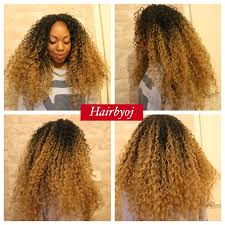 ombre crochet braids curly ombre crochet braids with invisible middle parting no
