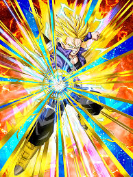 meaningful strike super saiyan 2 trunks teen dragon ball
