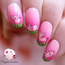nail art 47 awful pig nail art pictures ideas guinea pig nail