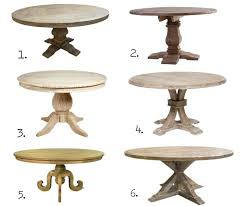 fixer upper dining table round table for 8 fixer upper round dining tables and where to find