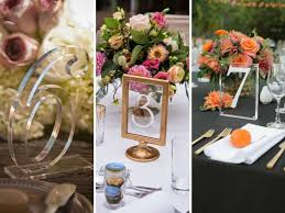 Table Numbers Wedding 35 Most Appealing Wedding Table Number Ideas Gurmanizer