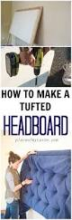 What Is The Width Of A King Size Headboard by Best 20 Tufted Headboards Ideas On Pinterest Diy Tufted