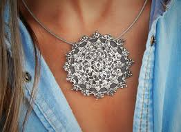 silver boho necklace images 58 bohemian necklace best 10 bohemian necklace ideas jpg