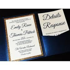 pocketfold wedding invitations and gold glitter wedding invitation luxury pocketfold wedding