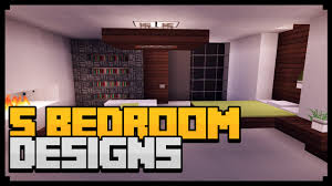Minecraft Bedroom Ideas Minecraft Xbox 360 U0026 Ps3 Modern House Interior Design 5 Bedroom