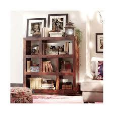 home decorators collection maldives walnut open bookcase