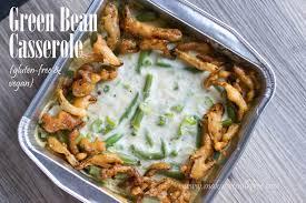 green beans recipe thanksgiving making it milk free green bean casserole gluten free vegan
