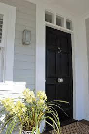 image result for hamptons coastal house black door door