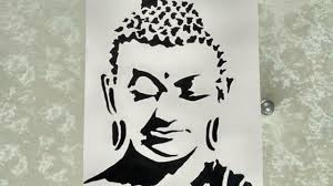 shrishti arts how to draw lord buddha creative art youtube