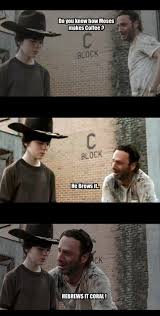 Rick Grimes Memes - 31 of the best dad jokes told by walking dead s rick grimes thechive