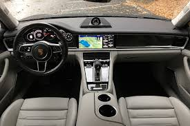 porsche electric interior 2017 porsche panamera turbo first drive digital trends