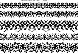 halloween clipart border crafticious digital lace borders u0026 bats